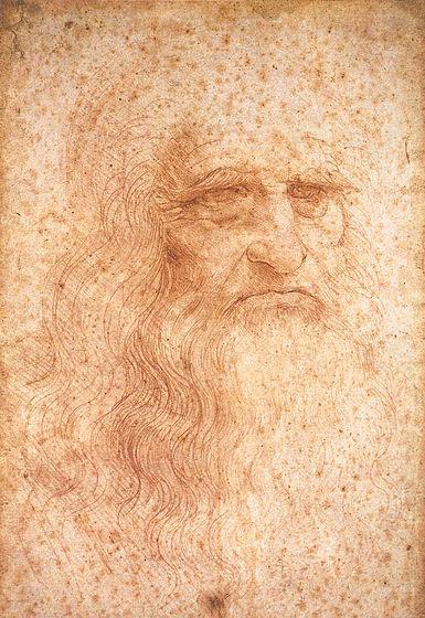 Leonardo da Vinci, A self-portrait