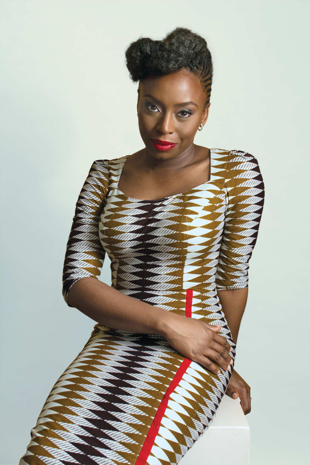 Writer Chimamanda Ngozi Adichie as featured in New York magazine