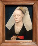 Portrait of a Lady, 1460, by Rogier van der Weyden