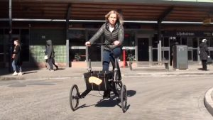 This Tricycle Easily Converts Into A Shopping Cart And Goes Everywhere